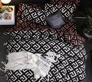 Modern Geometric California King Bedding Sets lixar Duvet Cover Set fronha 51 * 90 capas de edredão 229 * 260 3pcs Jogo de Cama