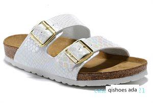 Arizona Summer Beach Cork Slipper Flip Flops Sandals Women Mixed Color Casual Slides Shoes Flat 34-46QA21