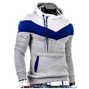 Hoodie Stitching Hoodies Hip Hop Men Fashion Slim Fit Tracksuit Mens Sweatshirt Hoodie Mens Purpose Tour Silm Hoodies Outwear