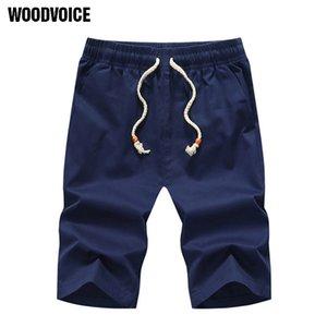 maschio tratto mens bordo slim fit superiore diritto qualità Woodvoice marca casual estate abbigliamento Shorts traspirante Shorts