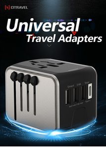 National universal conversion plug fast flash charging smart fast charging sockets in many countries around the world