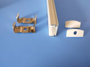 Frete grátis Fábrica Pricewholesale alumínio anodizado preço perfil tira conduzida, 11 milímetros PCB luz bar, LED canal