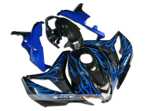 New ABS Injection Molding motorcycle Fairings Kits 100% Fit For Honda CBR600RR F5 07 08 2007 2008 fairings bodywork set Custom Blue flame