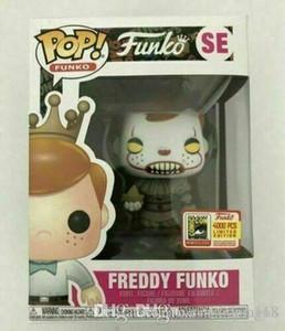 Belle 2019 Hot Funko l'action Pop Vinyl Figure Freddy Funko Pennywise SDCC LE4000 Marque Nouveau jouet avec la boîte