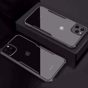 Quattro-angolo anticaduta cassa dura acrilico Sleeve Casi di telefono cellulare per Apple iphone11 XR Caso Equipaggiata XS