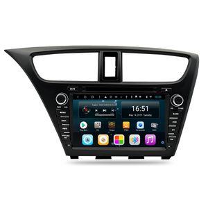 Android 8 polegadas 8-core para Honda civic hatchback 2013-2015 Carro GPS Multimedia Player Suporte você define qualquer papel de parede Wifi Head Unit