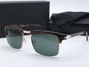 Простой стиль моды квадратный ретро половина кадра дизайн унисекс солнцезащитные очки открытый УФ защита очки PE3102 дизайнерские солнцезащитные очки