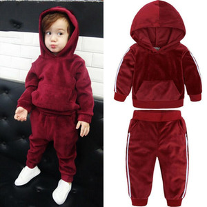 Kid Brand Tracksuits Baby Boys Clothes Set Long Sleeve Jacket trousers 2 Piece Clothing Suit Spring Outfits for 1-8T Girl Clothes