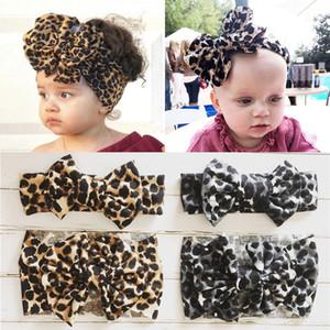 Bande nuovo leopardo fascia del bambino del turbante archi Ragazza appena nata fasce elastiche dei capelli dei capretti Per neonate Haarband Accessori per capelli