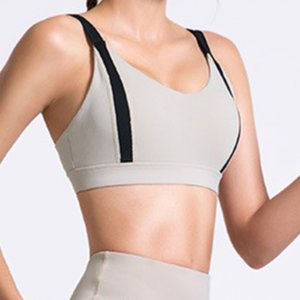 Sportswear suit women's color matching running seamless Yoga suit bra quick drying fitness pants women