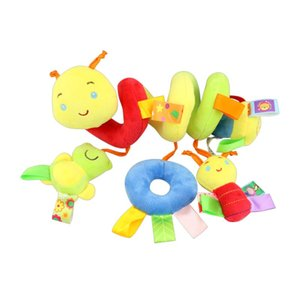 Baby Bed Stroller Car Seat Hanging Plush Toy Cute Cartoon Animal Handbells Toys Bedding Sets New