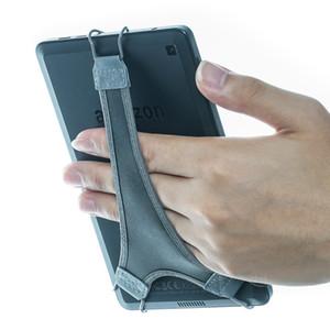 6 inçlik Kindle için WANPOOL Karşıtı damla Güvenlik El Kayışı Tutucu Parmak Tutma - Kindle Paperwhite / KUYTU GlowLight Artı / SONY PRS-300, Gri