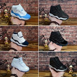 Nike Air Jordan 11 Gym Red XI 11 Enfant Chaussures Bred Space Jam Enfants Baskets De Basketball Concord Gamm Bleu Nouveau Né Bébé Infant 11s Chaussures