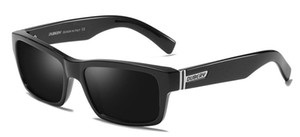 Dubery verano nuevos hombres polarizados los vidrios del color deportes de ciclo Gafas de sol mujer gafas de cristal de bicicletas Dazzle retro polarizaron el envío libre
