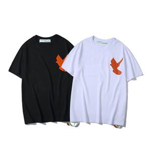 20% OFF Top Quality Brand Designer Clothing Men Women White T-Shirt Print Tees Short Sleeve 335