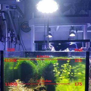 PAR38 54W LED Aquarium E27 Blanc 6500K plante pousse ampoule VEG pour poissons d'eau douce Réservoirs