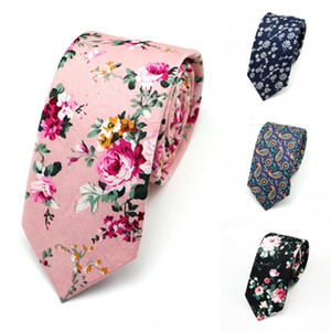 Moda Masculina Estreita Gravata Casual Paisley Flor De Algodão Artificial Roes Bow Tie Exército Skinny Laços Dos Homens Pequeno Designer Cravat