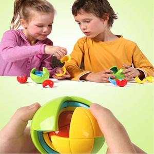 Neue kreative magische Intellekt Spielzeug Puzzle 3D zusammengebauten Maze Ball Kindergeburtstag