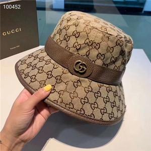 Yüksek kaliteli moda kadın tasarımcı dört mevsim butik balıkçı şapka lüks yazlık açık moda gölge şapka