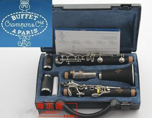 Buffet 1986 B12 Bb Clarinet 17 Chaves Crampon Cie A PARIS Clarinet Com Caso Acessórios tocar instrumentos musicais