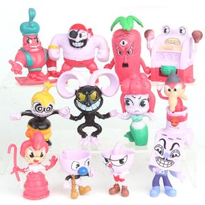 12 Style Game Cuphead Chalice Action Figures toys New kids Cartoon game Mugman the Devil Legendary Chalice BOSS Figure Toy C6389