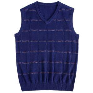 MACROSEA мужской сплошной цвет трикотажный плед шерстяной свитер мужчины кашемировая смесь шерсти Relax Fit жилет дизайн досуг пуловер