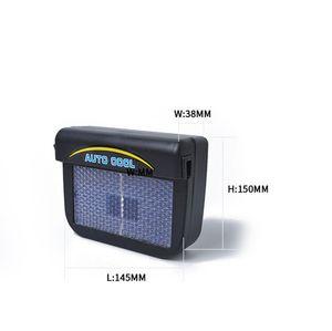 Coche solar del verano del ventilador nuevo producto Auto Fan Cool interior / coche de escape / secador de pelo atemperador automáticas solares portátiles