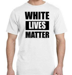 WHITE LIVES MATTER Funny Humor BLM Support Equality All Lives Matter New T-Shirt