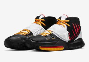 Kyrie 6 Mamba Mentality Bruce Lee Детская обувь для продажи с коробкой лучшее качество Irving 6 спортивная обувь оптовые цены размер 40-46
