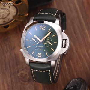 2019 commercio all'ingrosso di orologi di lusso, orologi di marca, orologio meccanico automatico di stell 316L 44MM uomo, consegna gratuita
