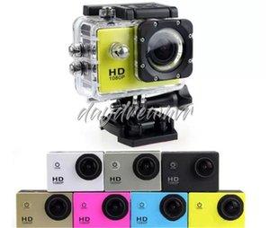 Имитировать A9 2-дюймовый ЖК-экран 1080P шлем Спорт DV видео автомобиль Cam DV действие водонепроницаемый подводный 30 м спортивная камера видеокамера дешево