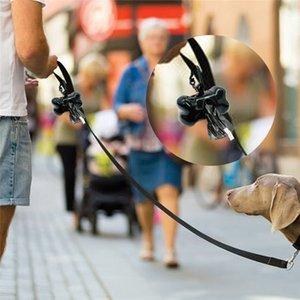 50Rolls=750pcs Dog Poop Bag Clean up Refill Rolls Pet Dispenser Bag Waste Garbage Bags Carrier Holder Dispenser Pet Accessories
