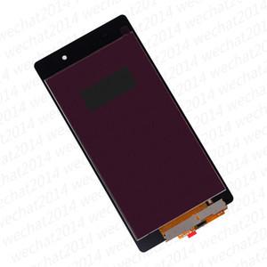 100 ADET LCD Ekran Dokunmatik Ekran Digitizer Meclisi Yedek Parçalar Sony Z1 Kompakt Z2 L50W D6502 için ücretsiz DHL