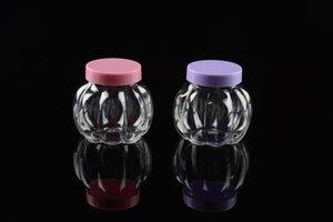 Высокое качество бутылки Держите еды сухой 60мл Малый тыквы мультфильм бутылки Кристалл Mud Контейнер Jar Multicolor Стеклянная бутылка Newyear украшения