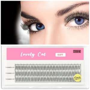 20pcs Individual Cluster Eye Lashes Professional Makeup Grafting Fake False Eyelashesfor eyelash extensions false eyelashes tabs