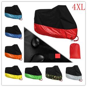 XXXXL 190T Dust Cover Motorcycle pluie extérieure imperméable UV moto Protecteur pluie Bike Moto Cover Covers Livraison gratuite