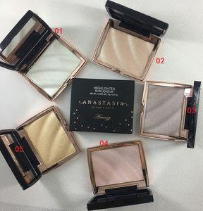 2020 NUEVO maquillaje iluminador 5 del envío del color de resaltado de resaltado surligneur gratuito