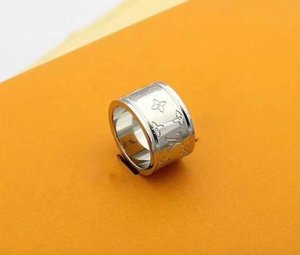 1pcs fashion designers style rings for women and men party wedding engagement anniversary brand rings gold silver rose gold