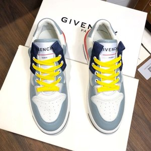 Chic luxury mens designer shoes letter decorated mens trainers high quality real pic mens designer shoes with box