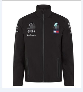 2020 водонепроницаемый теплая куртка Куртка новый AMG Formula One F1 team / мягкая оболочка куртка мотоцикл езда гоночный костюм теплый свитер