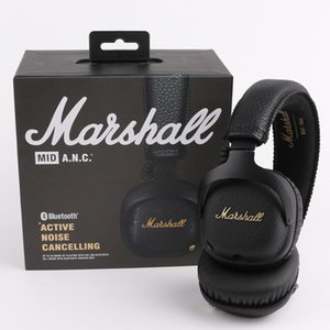 Marshall MID ANC Bluetooth Casque Actif Annulation De Bruit Sans Fil DJ Casque Deep Bass Gaming Headset Pour iPhone Samsung Smart Phone