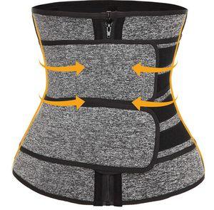 vendita calda che dimagrisce cinghia Corpo Shaper Vita Trainer Fasce doppie cinghie di Cincher del corsetto fitness Sweat Cintura Cintola Shapewear