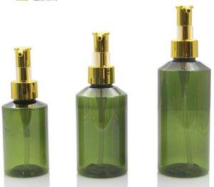 10pcs / lot 100ml 150ml 200ml riutilizzabile vuota di plastica lozione crema erogatore spray pompa bottiglie per cosmetici Shampoo Sapone Liquido
