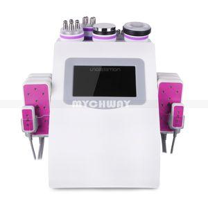 2020 Nueva promoción 6 en 1 vacío cavitación ultrasónica de radiofrecuencia Lipo láser adelgazar máquina para Spa