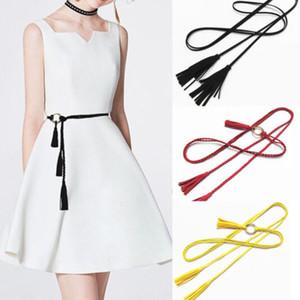 Femmes Lady Skinny Vintage Boucle ceinture élastique extensible Cinch ceinture Nouveau