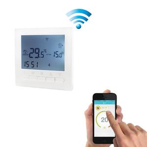 3A Su Isıtma AC 220V WIFI Isıtma Termostat Isıtma Sistemi WIFI Termostat APP Sıcak Floor için Kontrolleri