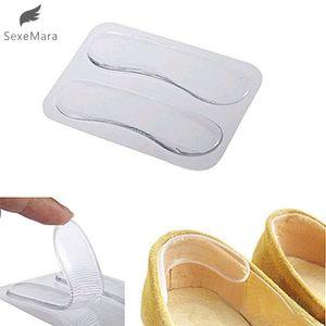 SexeMara 1Pair Women Fashion Silicone Gel Heel Cushion protector Shoe Insert Pad Insole Best Gift
