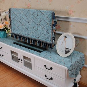 TV Cabinet Tablecloth Table Table Runner Covering Cloth Thick Rectangular Living Room Household TV Dust Cloth