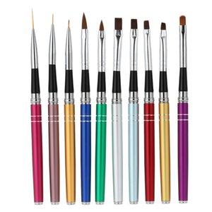 Nail Art Brush Design польский УФ-гель живопись кисть Draw сплава Pen набор инструментов Kit косметические инструменты для ногтей B-031