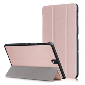 Manyetik Trifold Deri Kılıf Tablet Kapak Için Samsung Galaxy TAB S2 9.7 T810 / T815 S3 T820 T825 Sekmesi Bir 9.7 T550 Sekmesi S4 10.5 T830 T835 100 adet